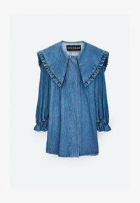 Uterqüe - Denim dress - blue - 5