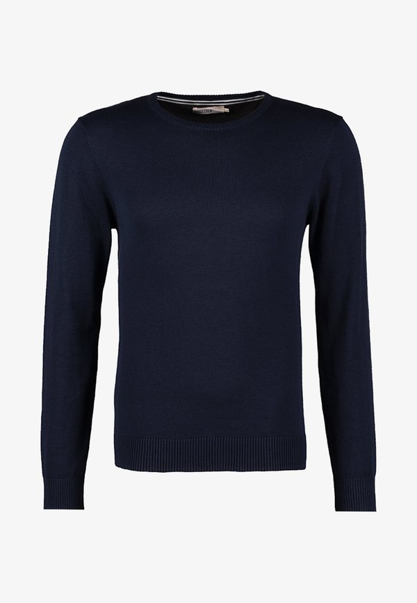 Pier One Sweter - dark blue/granatowy Odzież Męska LQSZ