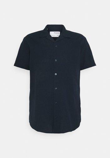 SLHREGNEW SHIRT RESORT - Overhemd - navy blazer
