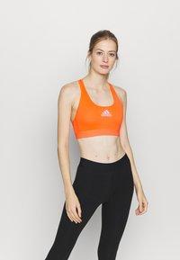 adidas Performance - ASK BRA - Sports bra - app/signal/orange - 0