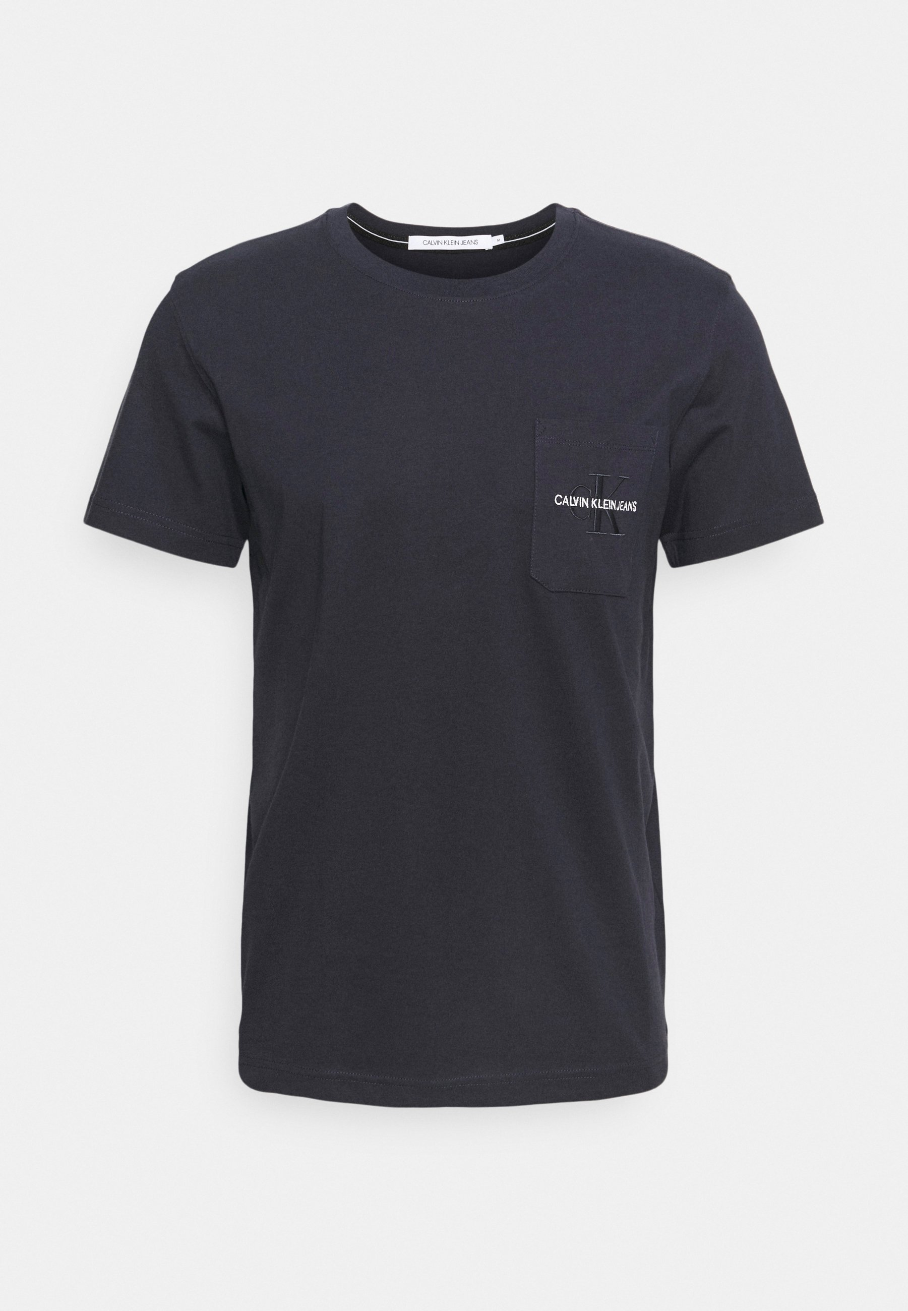 Homme MONOGRAM EMBROIDERY POCKET TEE - T-shirt imprimé