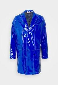 GCDS - STITCHED COAT - Classic coat - diva blue - 0