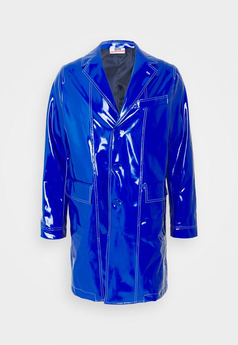 GCDS - STITCHED COAT - Classic coat - diva blue