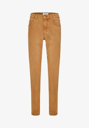 TAMA - Straight leg jeans - camel