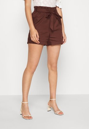 VMNOA PAPERBAG - Shorts - sable