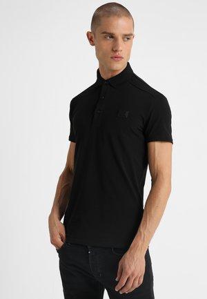 SPORT PLAQUETTE - Polo shirt - nero