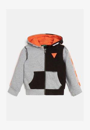 COLORBLOCK  - Zip-up hoodie - mehrfarbig grau