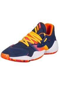 adidas Performance - ADIDAS PERFORMANCE HARDEN VOL. 4 BASKETBALLSCHUH HERREN - Chaussures de basket - tech indigo / signal pink / solar gold - 2