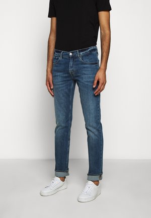OFFICER - Slim fit jeans - mid blue