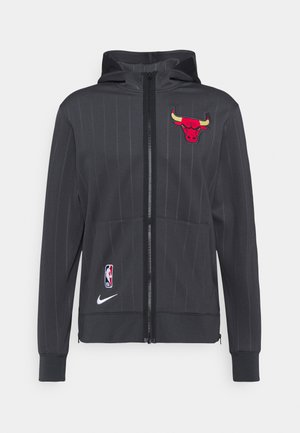 NBA CHICAGO BULLS CITY EDITON THERMAFLEX FULL ZIP JACKET - Veste de survêtement - anthracite/black/white