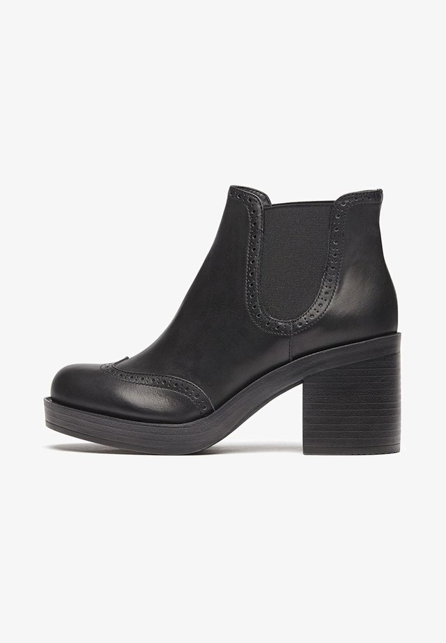MILLIE - High heeled ankle boots - schwarz