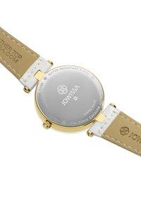 Jowissa - QUARZUHR FACET STRASS SWISS - Chronograph watch - weiß - 2