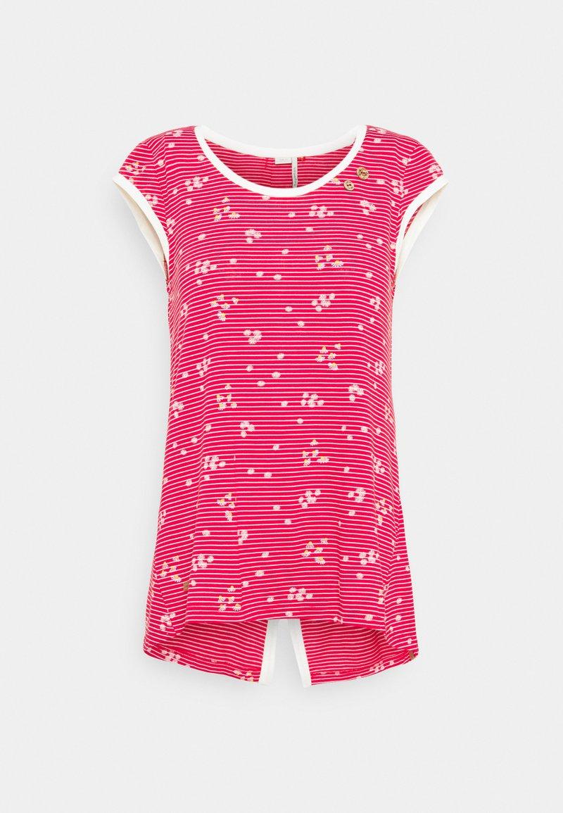 Ragwear - DOMINICA - Print T-shirt - red