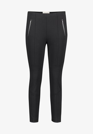 MIT STEPPUNGEN - Trousers - schwarz