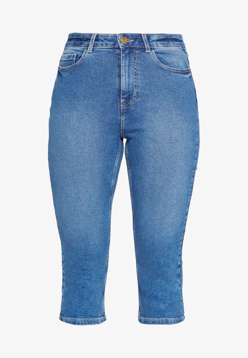 PIECES Tall - PCMACY KNICKERS BOX - Jeans Skinny Fit - medium blue denim