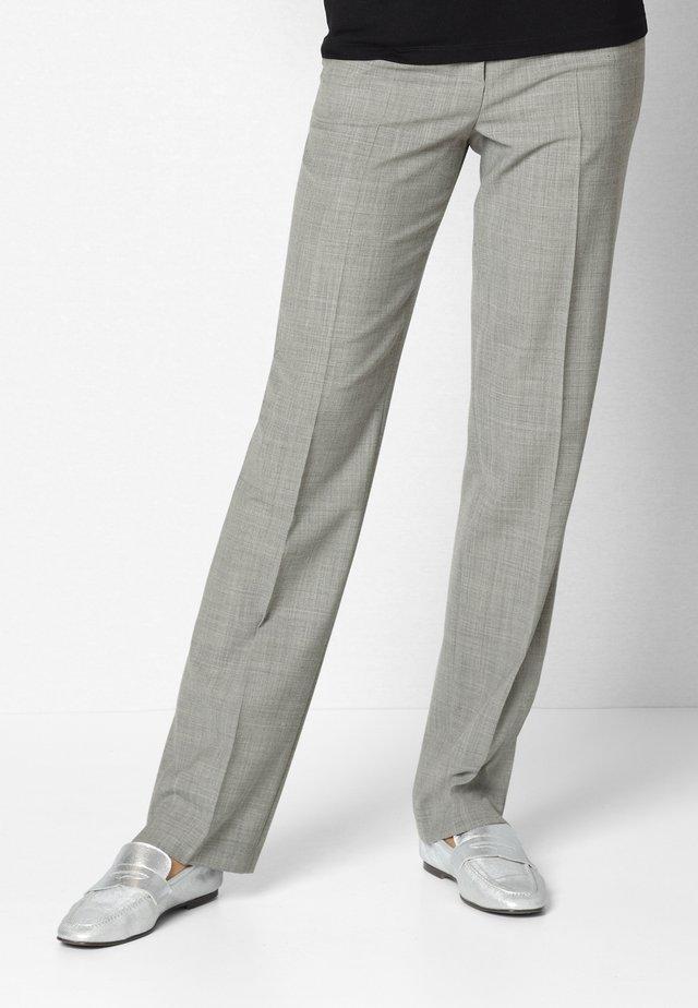 Trousers - silbergrau/melange
