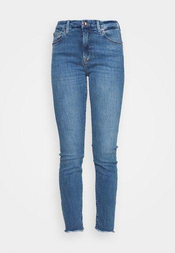 GOOD LEGS JAGGED FRAY HEM - Jeans Skinny Fit - blue