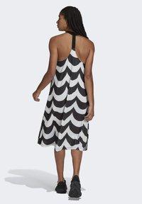 adidas Originals - X MARIMEKKO - Vestido camisero - black/white - 2