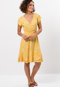 zero - Day dress - yellow curry - 0