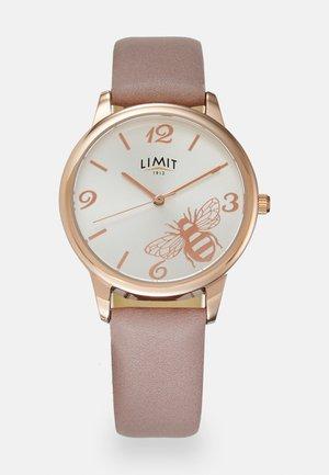 Watch - dusty pink