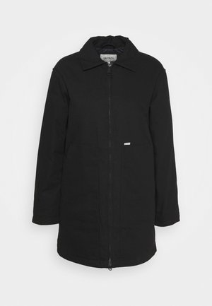 BROOKE COAT - Villakangastakki - black