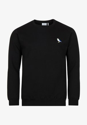 EMBRO GULL - Sweater - black