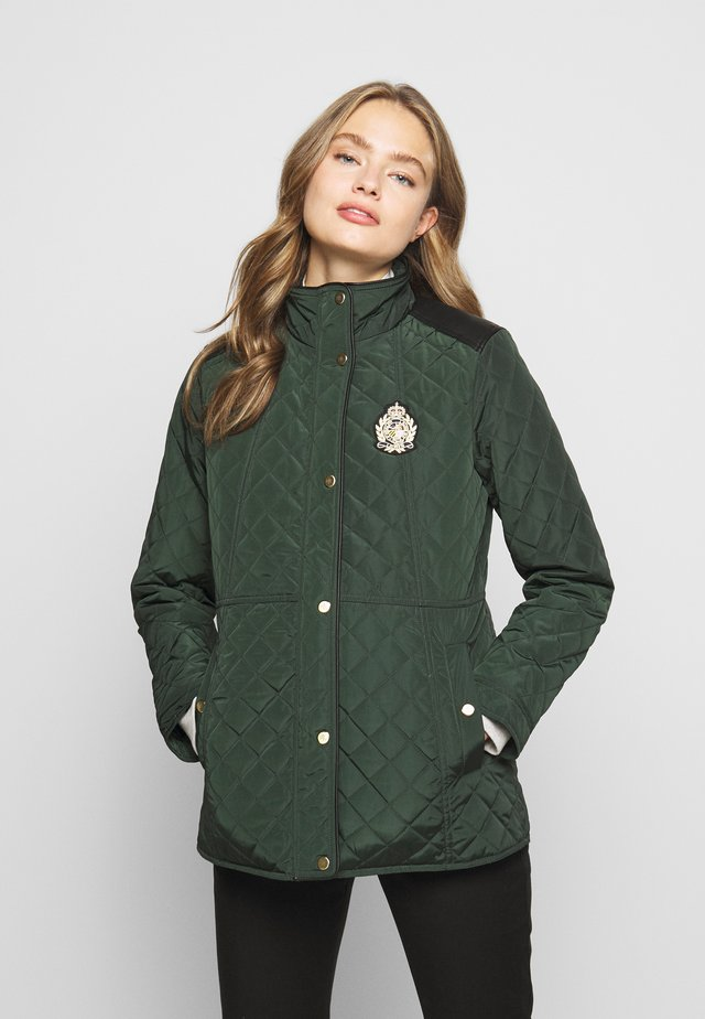 Manteau court - hunter green
