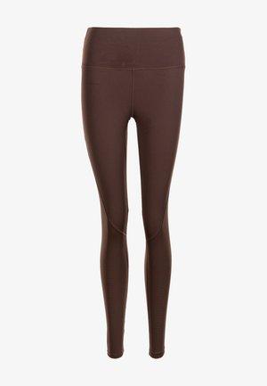 Leggings - dark brown