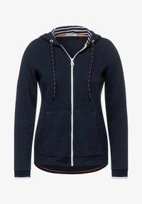 Cecil - OTTOMAN - Zip-up sweatshirt - dark blue - 3