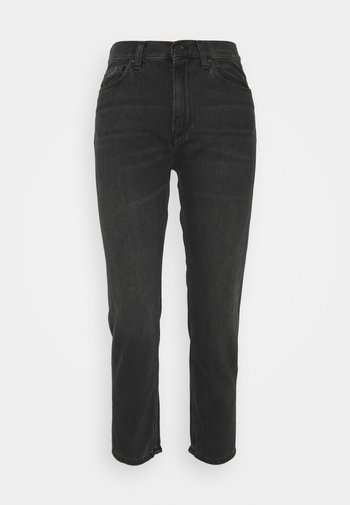 PAGE CARROT ANKLE PANT - Jeans Tapered Fit - black