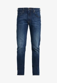 DAREN ZIP FLY - Straight leg jeans - dark diamond