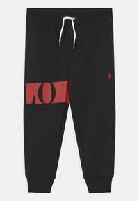 Polo Ralph Lauren - BOTTOMS - Tracksuit bottoms - polo black - 0