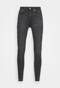 ONLIDA LIFE MIDWAIST - Jeans Skinny Fit - grey denim