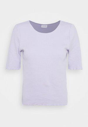 VIBALA - Basic T-shirt - purple heather