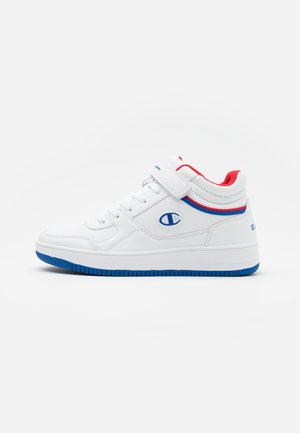 MID CUT SHOE REBOUND VINTAGE - Basketbalové boty - white/royal blue/red