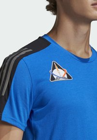 adidas Performance - SPACE TEE M - Sports shirt - fooblu - 4