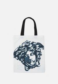 Versace - MEDUSA TOTE - Across body bag - bianco/nero - 1