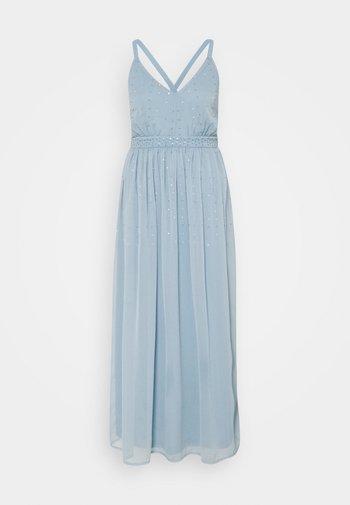 VICELOSIA SEQUIN ANKLE DRESS - Denní šaty - ashley blue