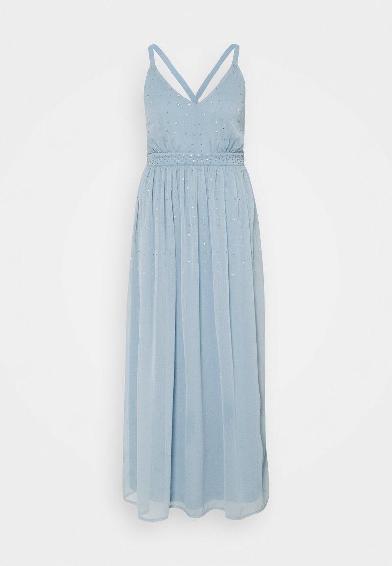 VILA PETITE - VICELOSIA SEQUIN ANKLE DRESS - Day dress - ashley blue