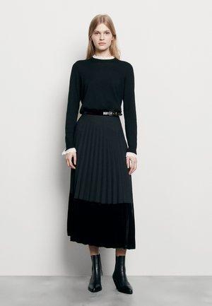 VELNA - A-line skirt - noir