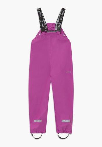 MUDDY UNISEX - Kalhoty do deště - violet