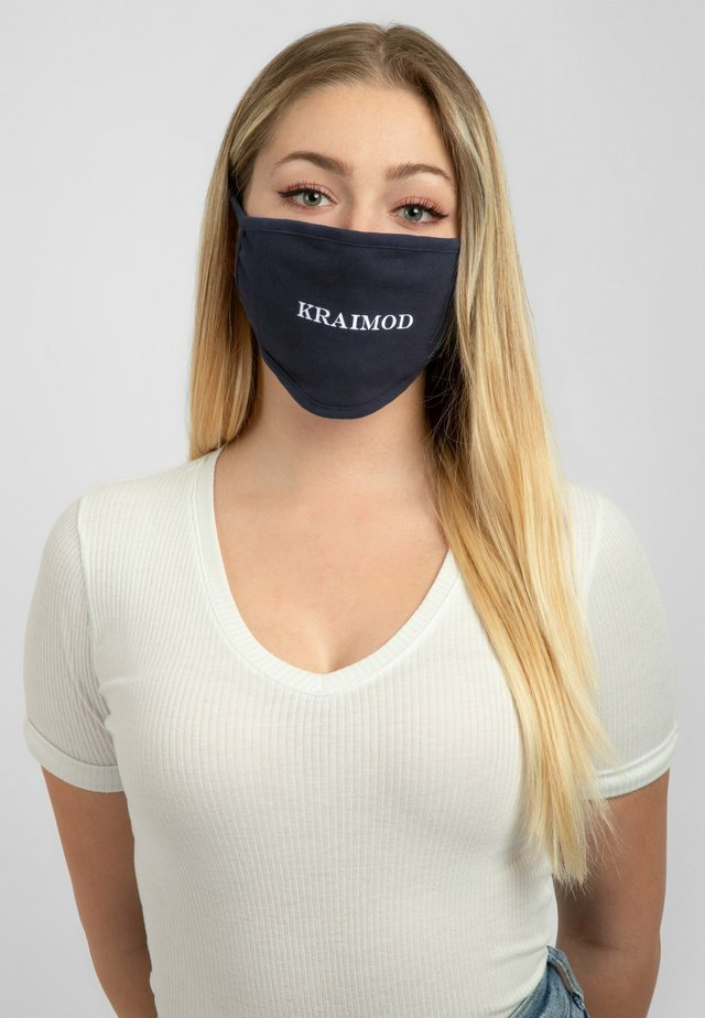 Maschera in tessuto - navy