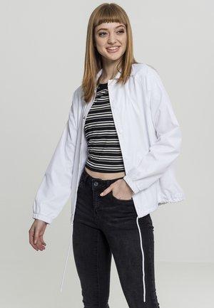 COACH - Training jacket - white