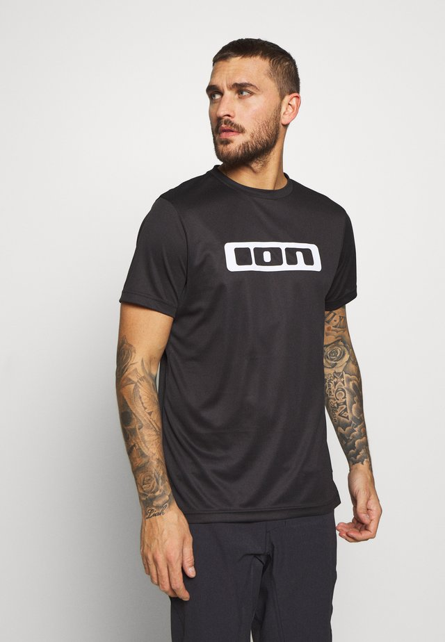 TEE SCRUB - T-shirts print - black
