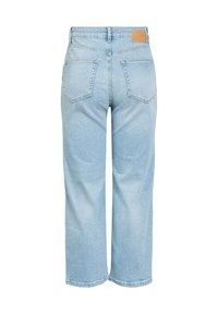 Pieces - Straight leg jeans - light blue denim - 6