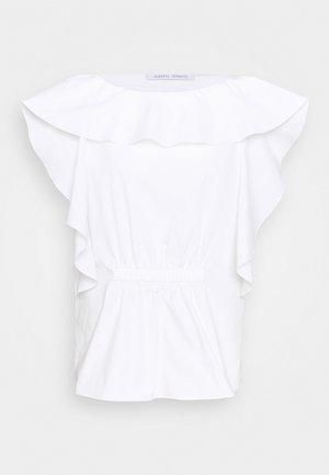 BLOUSE - Print T-shirt - white
