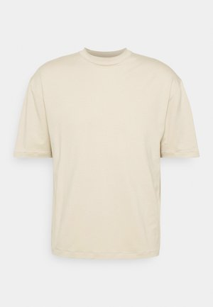 MOCK NECK RELAXED - Basic T-shirt - ecru