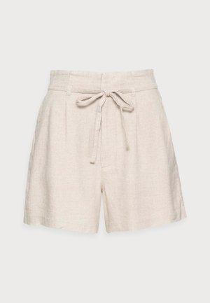 EMEA BELTED SHORT - Shorts - flax