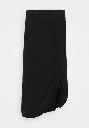 PCNEORA STRINGSKIRT - Pencil skirt - black