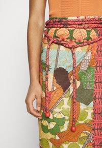 Farm Rio - BEACH DESIRE WRAP SKIRT - Pencil skirt - multi - 4